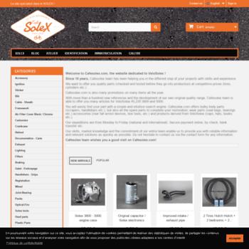 cafesolex com at WI  Solex parts in the online store CafeSolex