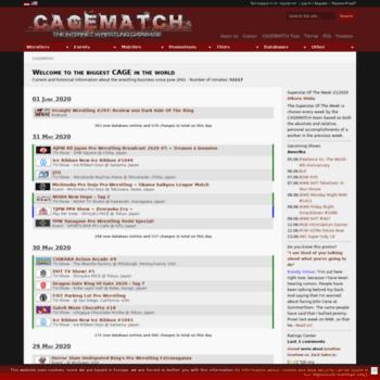 Cagematch.net thumbnail