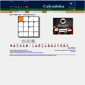 Calcudoku.org thumbnail