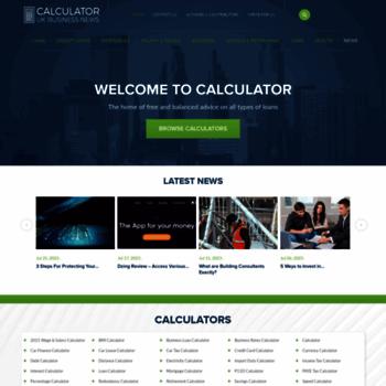 Calculator.co.uk thumbnail