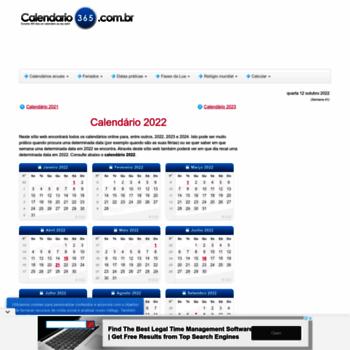 Calendario 365.Calendario 365 Com Br At Wi Calendario 2019