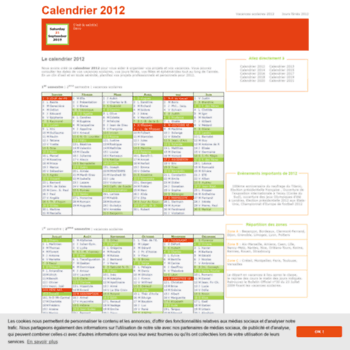 Calendrier-2012.fr thumbnail