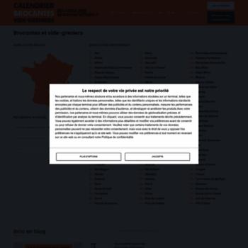 Calendrier Des Vide Greniers.Calendrier Des Brocantes Com At Wi Calendrier Des Brocantes