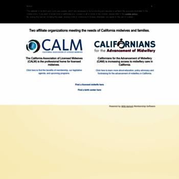Californiamidwives.org thumbnail