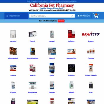 Californiapetpharmacy.com thumbnail