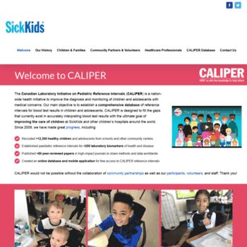 Caliperproject.ca thumbnail