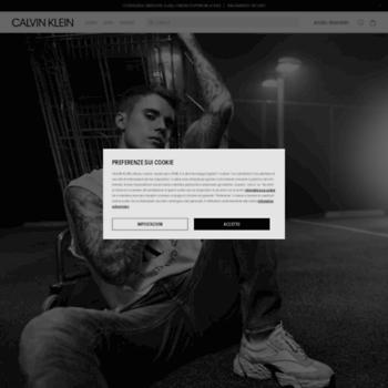 Calvinklein.it thumbnail
