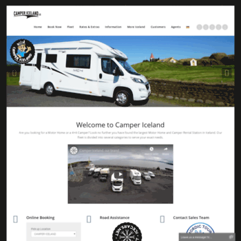 Campericeland.is thumbnail