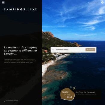 Campingsluxe.fr thumbnail
