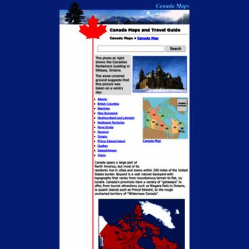 Canada-maps.org thumbnail