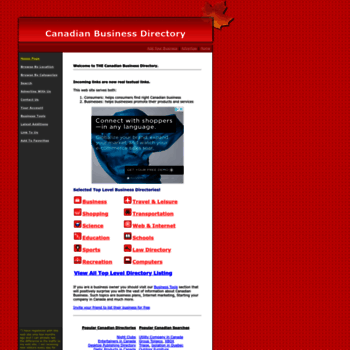 canadianbusinessdirectory ca at WI  Canadian Business