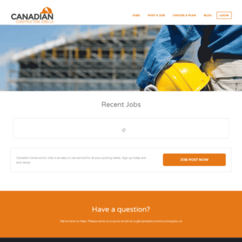 canadianconstructionjobs ca at WI  Canada's Only Niche