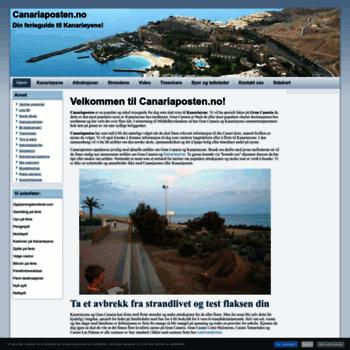 Canariaposten.no thumbnail