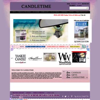 Candletime.co.uk thumbnail