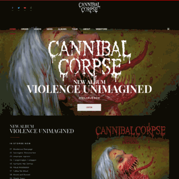 Cannibalcorpse.net thumbnail