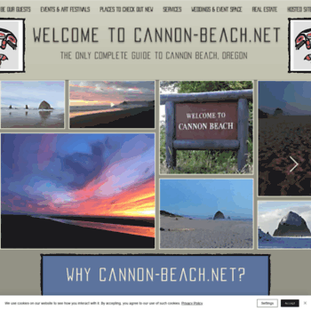 Cannon-beach.net thumbnail