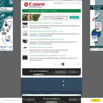 Canondriver.org thumbnail
