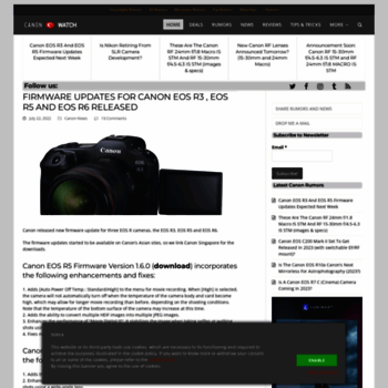 64b0f572985 canonwatch.com at WI. CanonWatch - The Source for Canon Rumors and ...