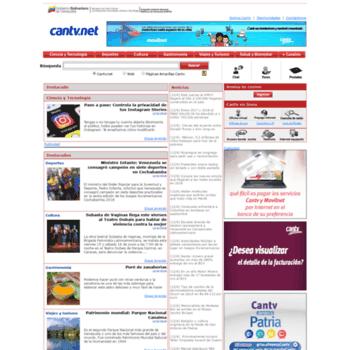 Cantv.net thumbnail