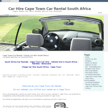 Cape-town-car-hire.info thumbnail