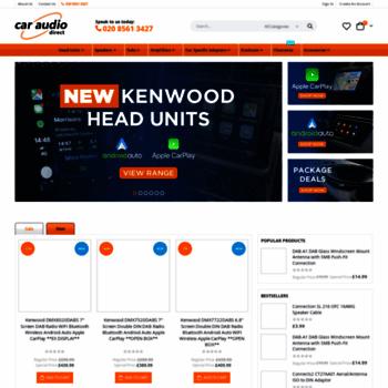 Caraudiodirect.co.uk thumbnail