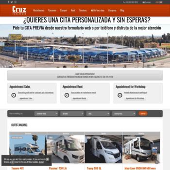 9df3df7148 caravanas-cruz.com at WI. Caravanas CRUZ - Caravans and Motorhomes ...