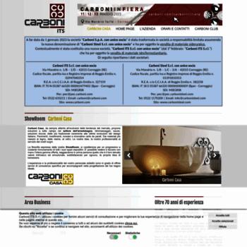 Carboni Correggio Arredo Bagno.Carboni Com At Wi Carboni S P A Home Page