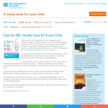 Care-for-me.org thumbnail