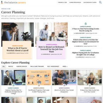 Careerplanning.about.com thumbnail