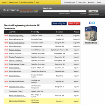 Careers.electricalengineer.com thumbnail