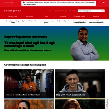 Careers.govt.nz thumbnail