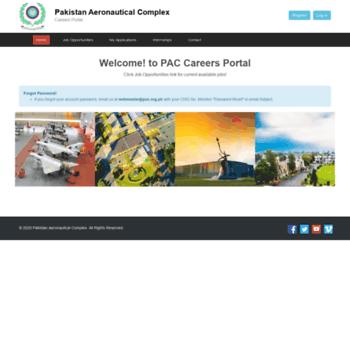 Careers.pac.org.pk thumbnail