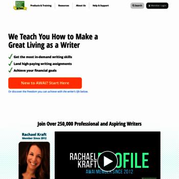 carefree-entrepreneur com at WI  AWAI - American Writers and
