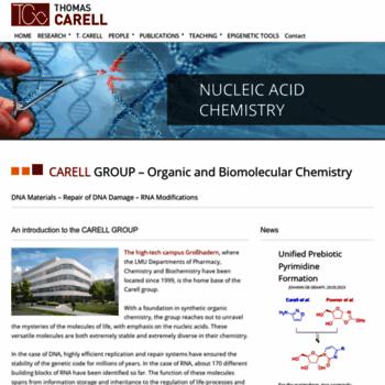 Carellgroup.de thumbnail