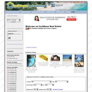 Caribbean-real-estates.com thumbnail