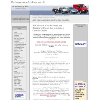 Carinsurancebrokers.co.uk thumbnail
