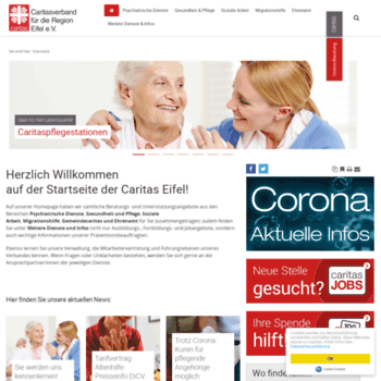 Caritas-eifel.de thumbnail