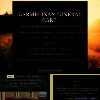 Carmelinasfuneralcare.co.uk thumbnail
