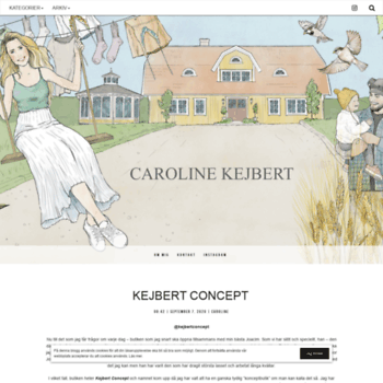 caroline kejbert