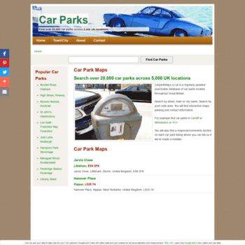 Carparkmaps.co.uk thumbnail