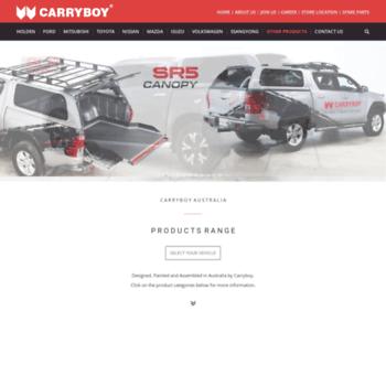 carryboy com au at WI  CARRYBOY : Fiberglass Canopies