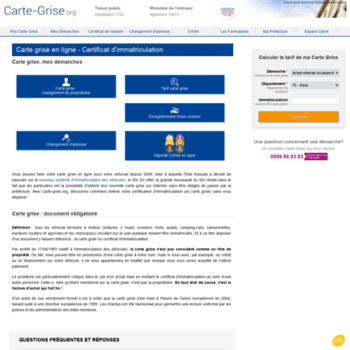carte grise org certificat immatriculation carte grise.at WI. Carte Grise en Ligne : Votre Certificat d