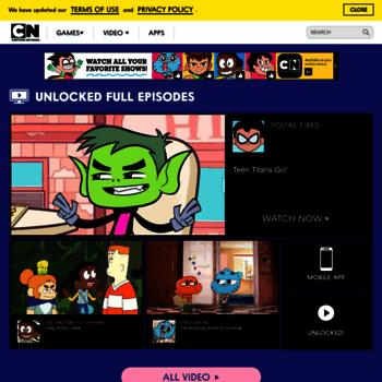 Cartoonnetwork.com thumbnail