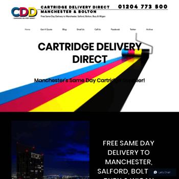 Cartridgedeliverydirect.co.uk thumbnail