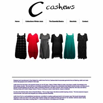 Cashews.co.nz thumbnail