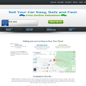 Cashitcaruk Com At Wi Sell My Car In Leicester Buy My Used Cars
