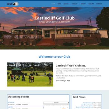 Castlecliffgolfclub.org.nz thumbnail