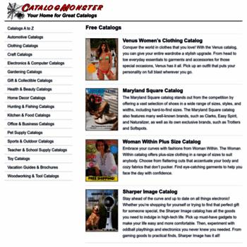 catalogmonster com at WI  Free Catalogs | Free Catalog