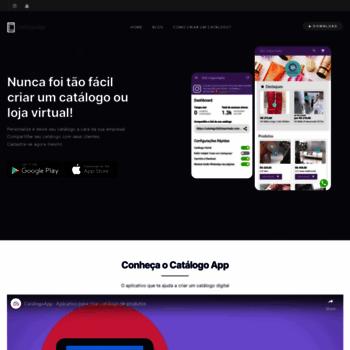 0192d3b27 CatálogoApp - Aplicativo para criar catálogo de vendas grátis. Visit  catalogoapp.mobi