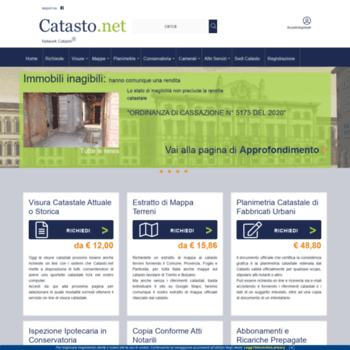 Catasto.net thumbnail